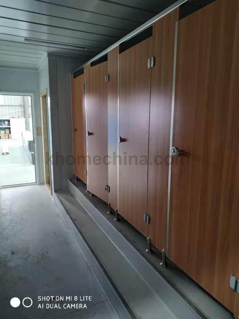 prefabricated toilet and shower blocks