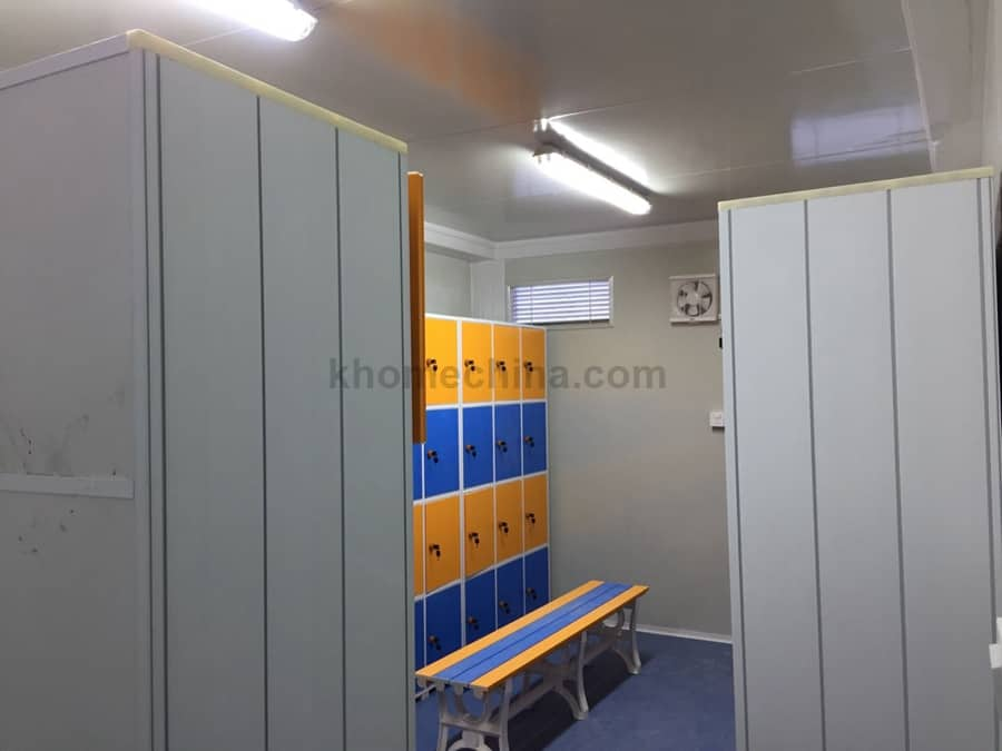 prefabricated toilet blocks