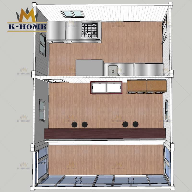Porta Cabin Kitchen