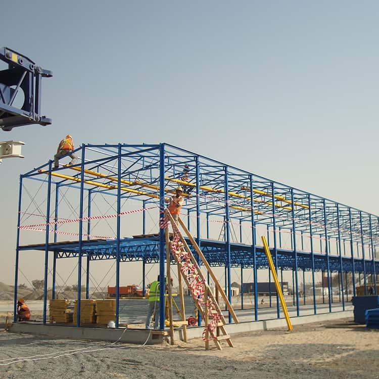 prefabricated labor camp