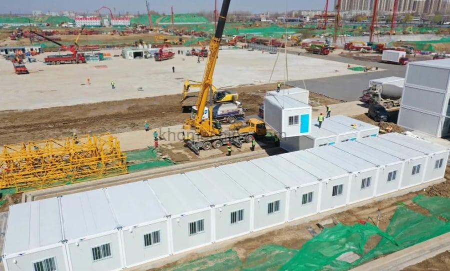 Container Apartment Building