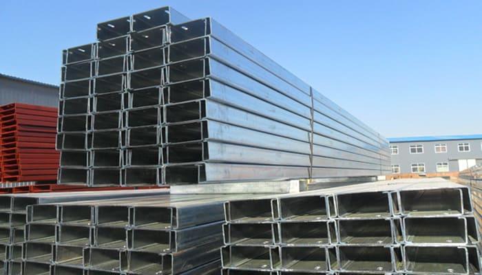 C-shaped channel steel