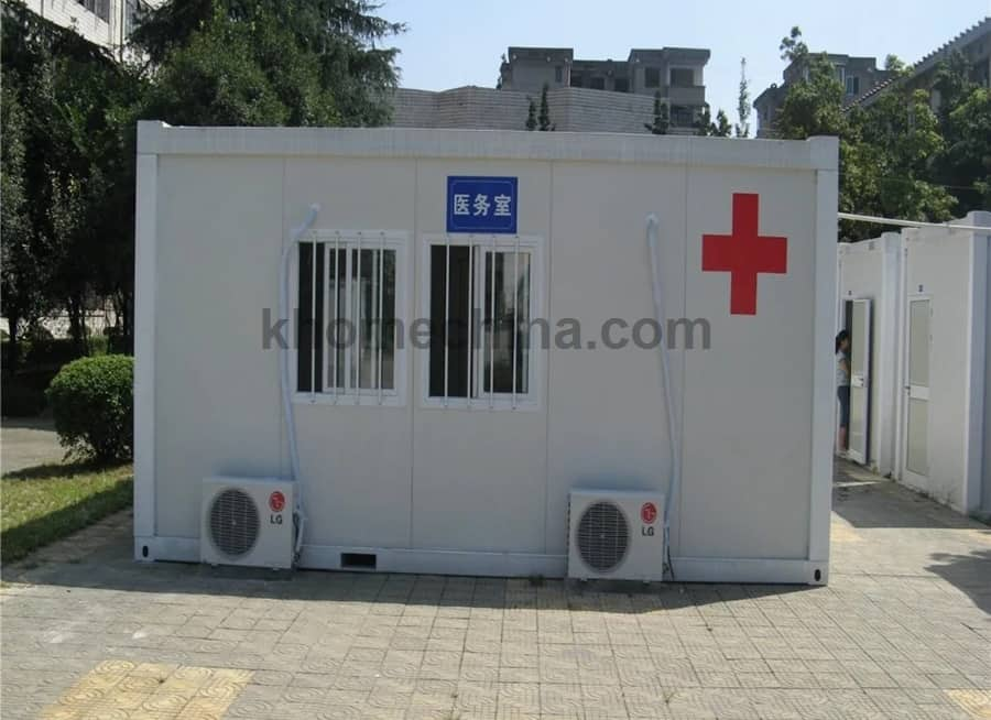 Mobile Medical Container
