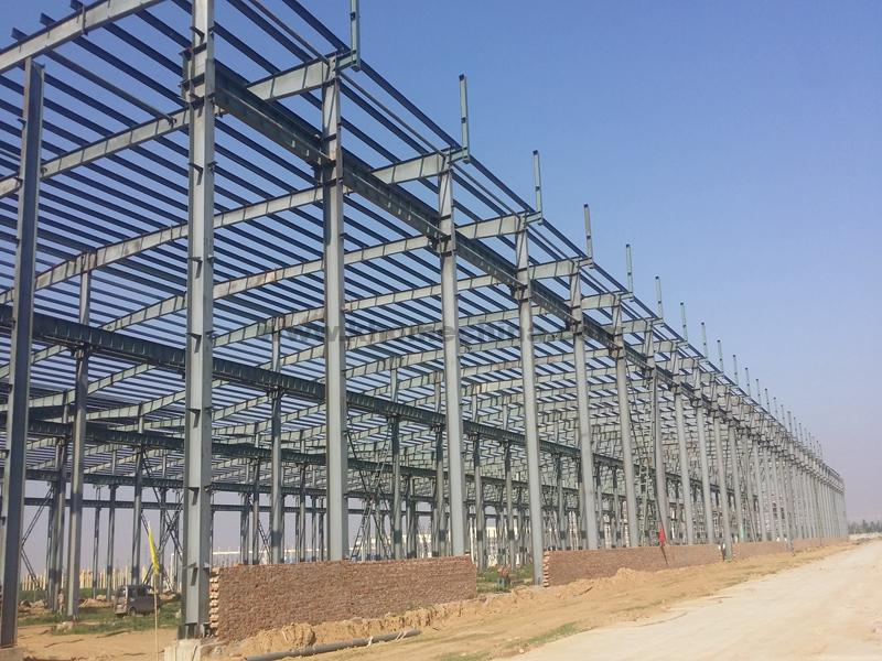Steel Structure Building Project For Women'S Prison